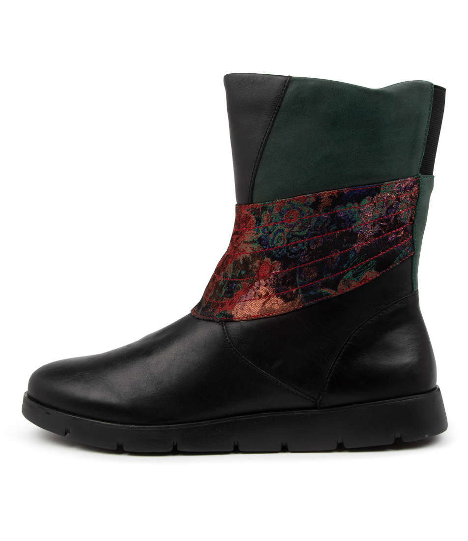 Buy Ziera Marlona W Zr Black Ankle Boots online with free shipping