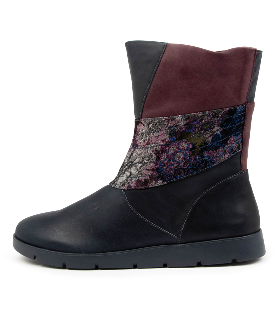 Buy Ziera Marlona W Zr Navy Ankle Boots online with free shipping