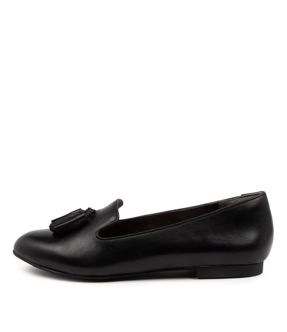 Buy Ziera Charter Xf Zr Black Flats online with free shipping