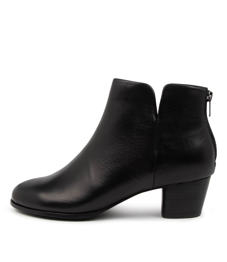 Buy Ziera Gates W Zr Black Ankle Boots online with free shipping
