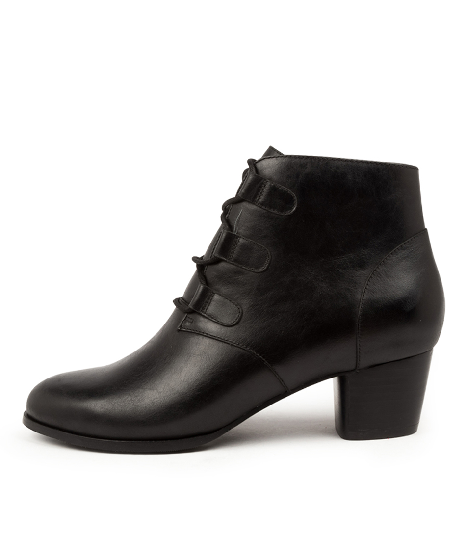 Buy Ziera George W Zr Black Ankle Boots online with free shipping