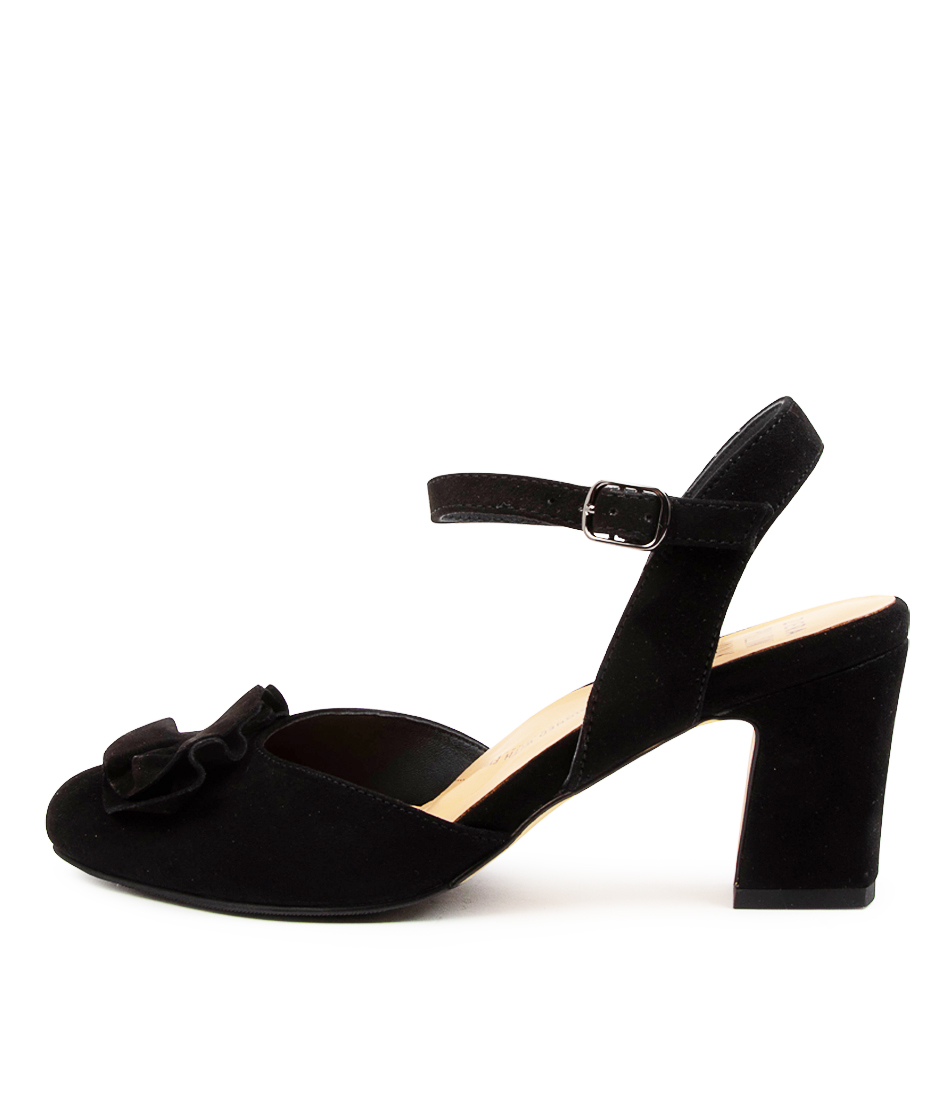 Buy Ziera Nord W Zr Black High Heels online with free shipping