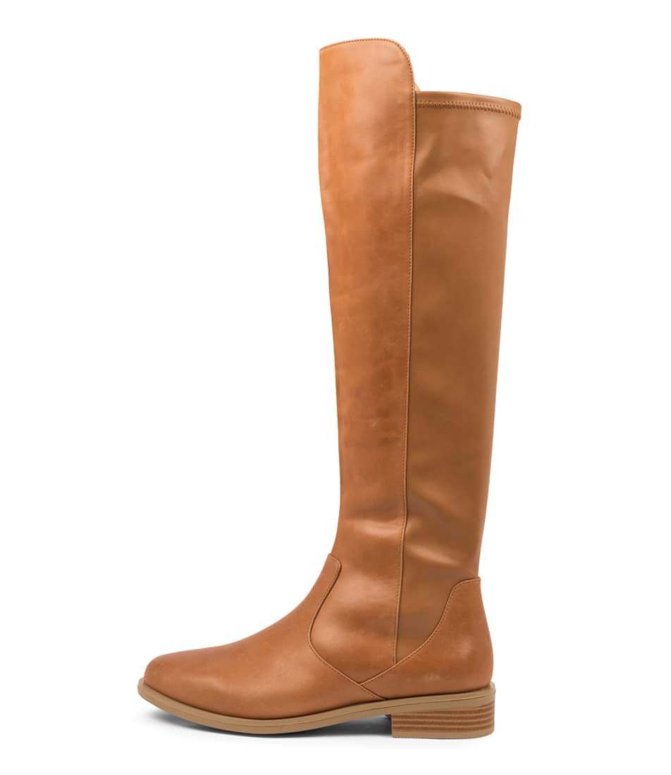 Buy Ziera Sallies Xf Zr Tan Long Boots online with free shipping