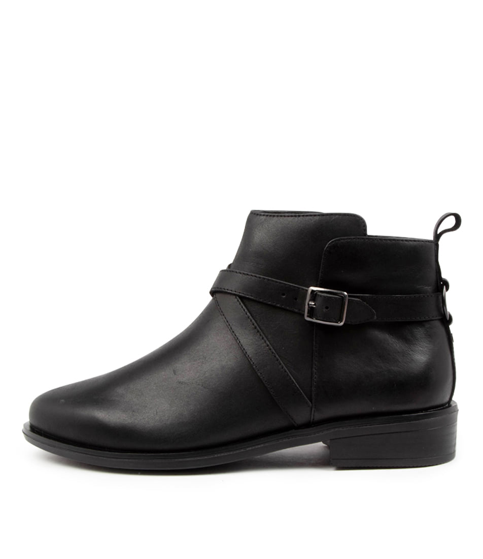 Buy Ziera Sebas Xf Zr Black Ankle Boots online with free shipping