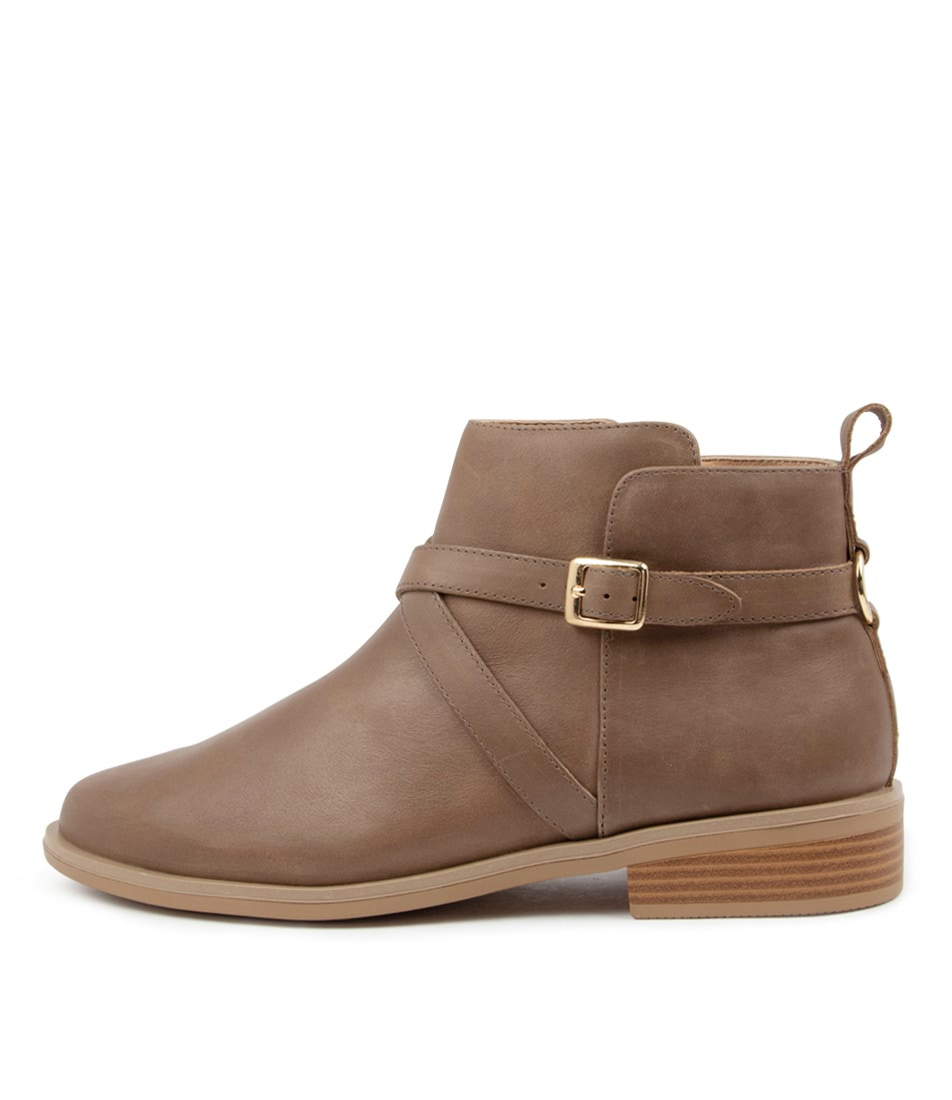 Buy Ziera Sebas Xf Zr Taupe Ankle Boots online with free shipping