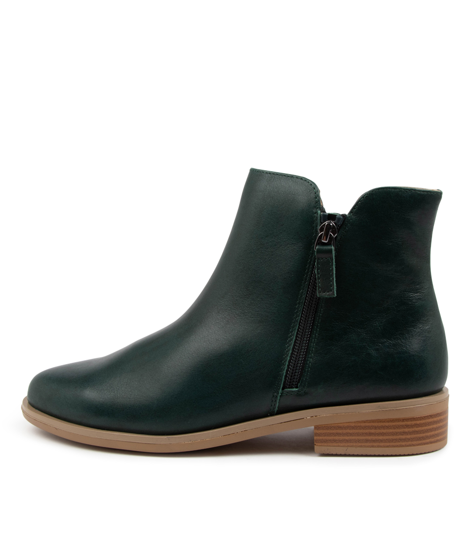 Buy Ziera Skylars Xf Zr Forest Ankle Boots online with free shipping
