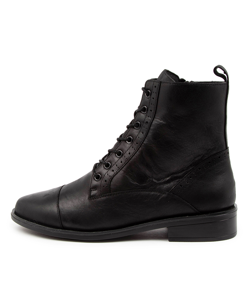 Buy Ziera Storm Xf Zr Black Ankle Boots online with free shipping