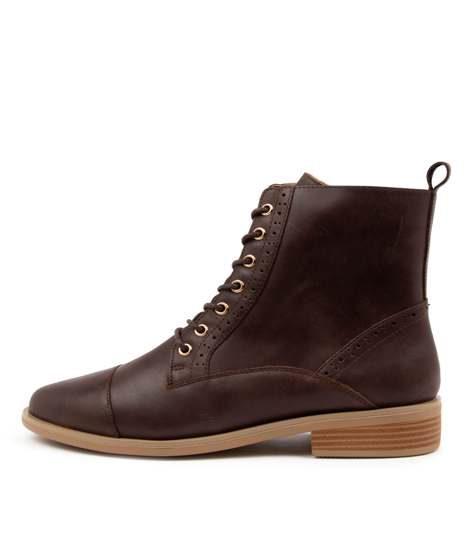 Buy Ziera Storm Xf Zr Choc Ankle Boots online with free shipping