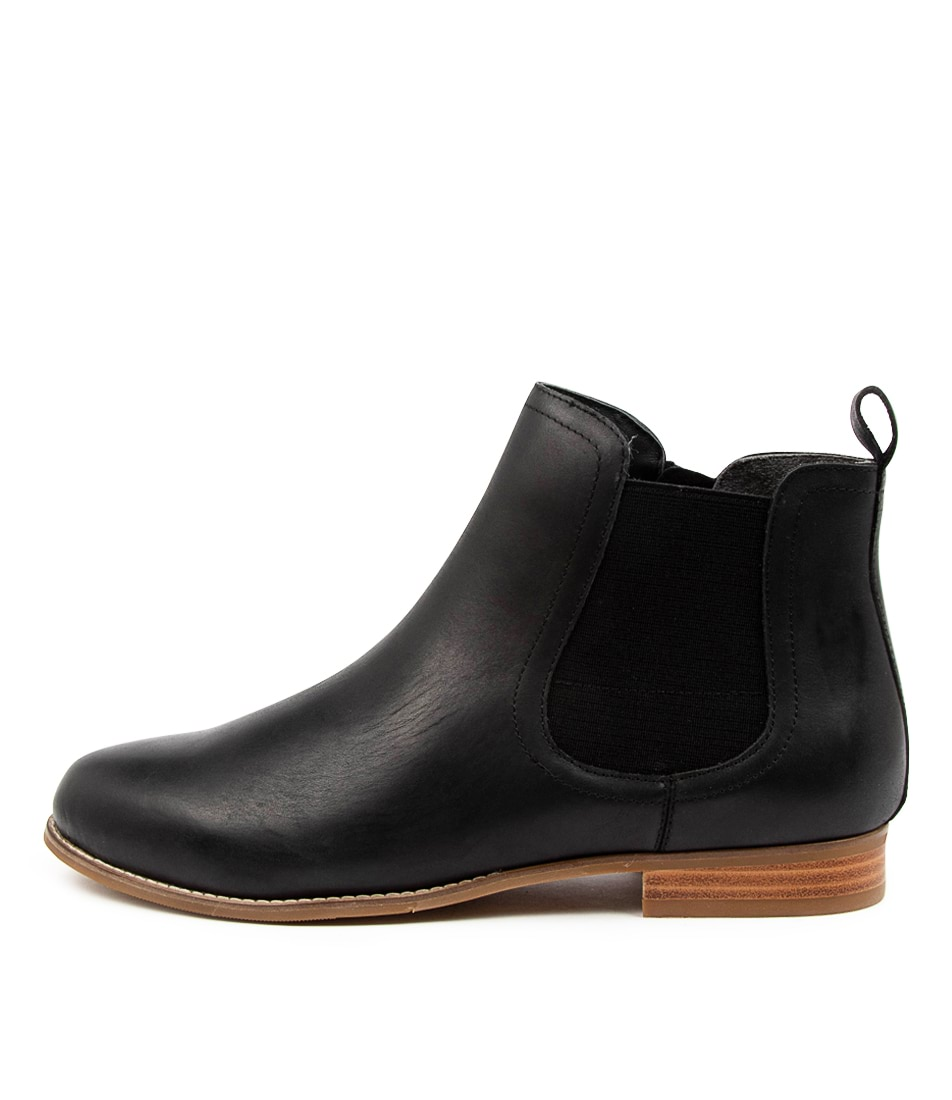 Buy Ziera Talia Xf Zr Black Ankle Boots online with free shipping