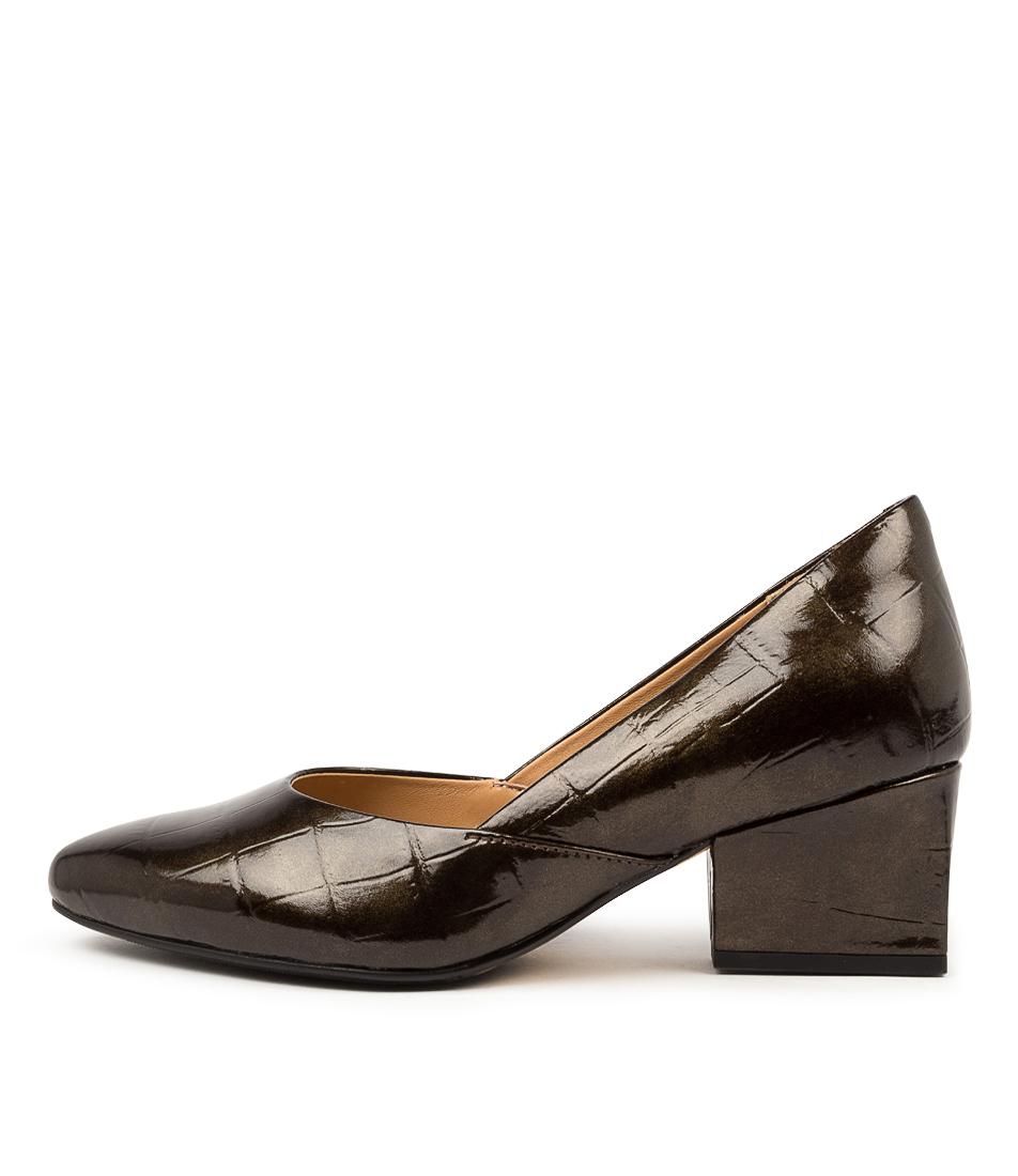 Buy Ziera Vish Xw Zr Bronze High Heels online with free shipping