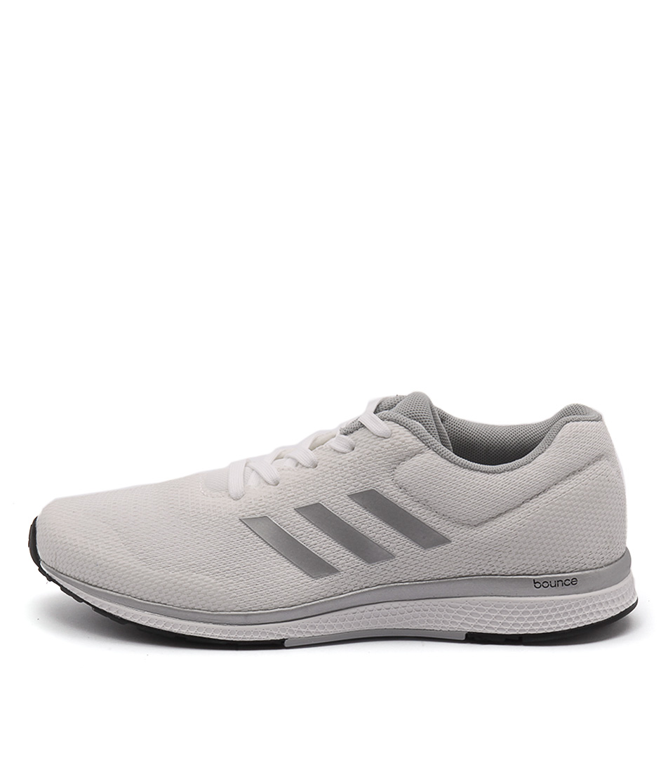 Adidas Performance Mana Bounce 2 White Silver Bl Sneakers