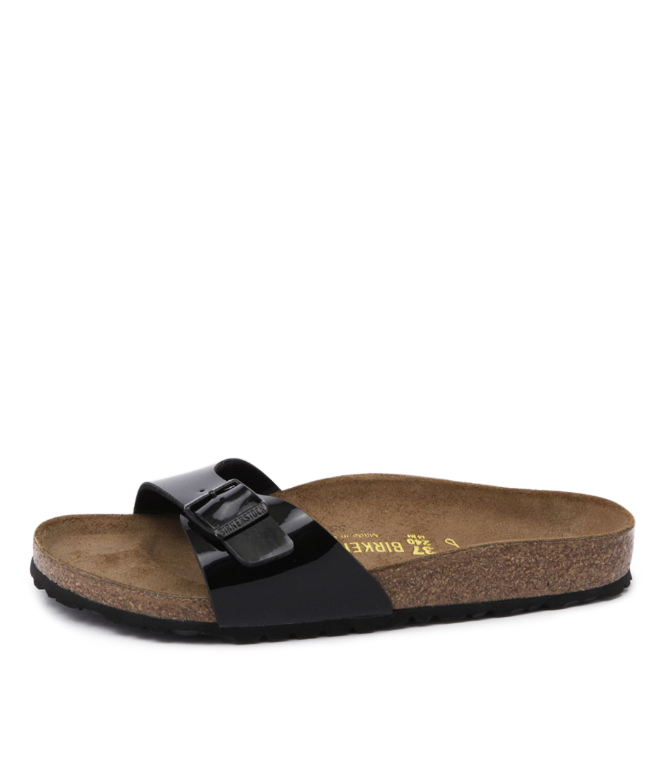 Birkenstock Madrid Bk Black Casual Flat Sandals