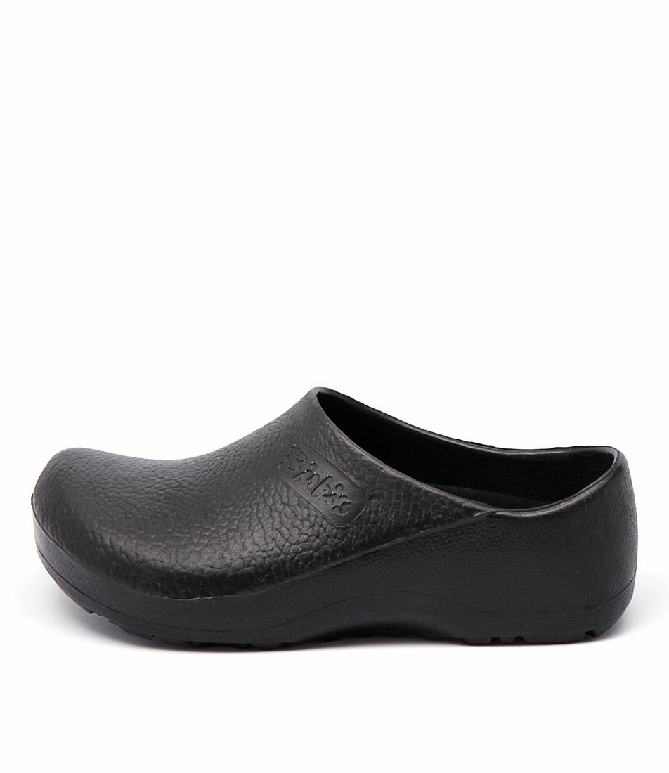 Birkenstock Profi Birki Black Comfort Flat Shoes