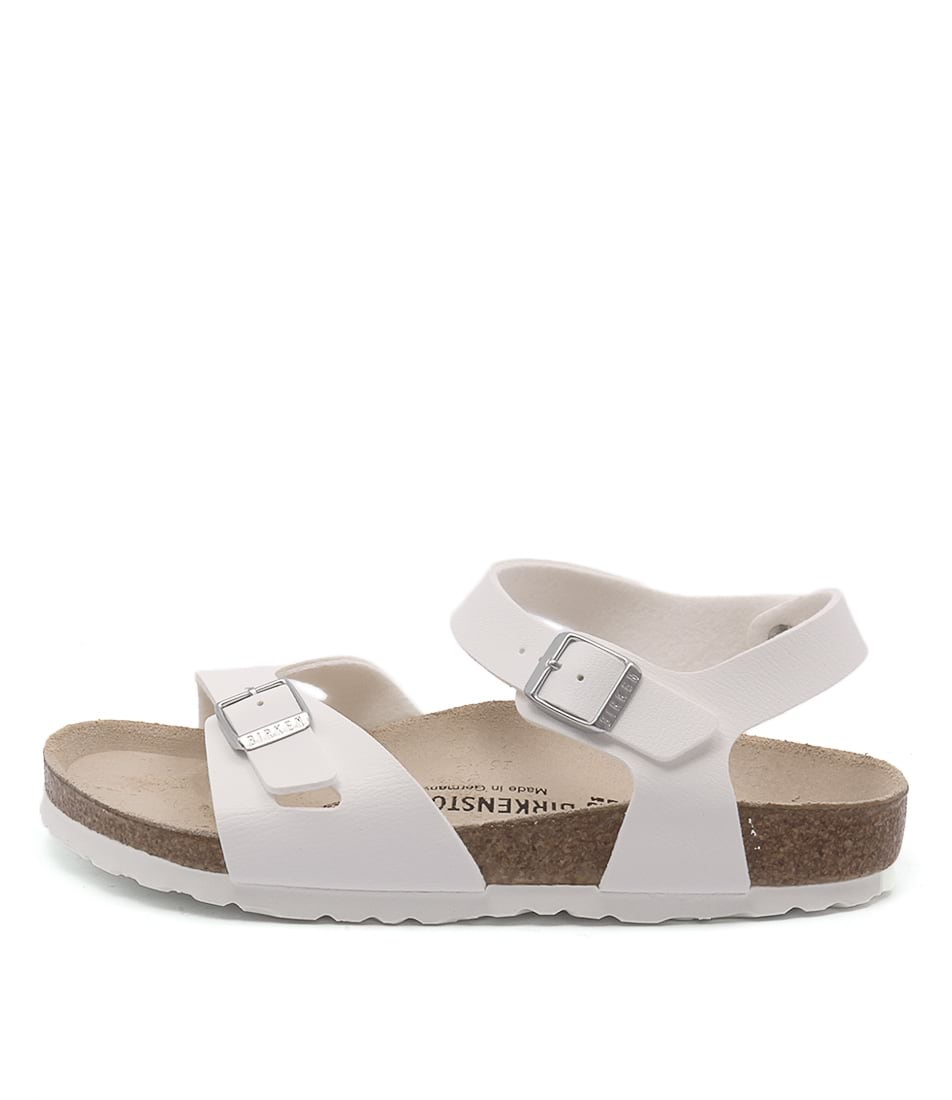 Birkenstock Rio White Casual Flat Sandals