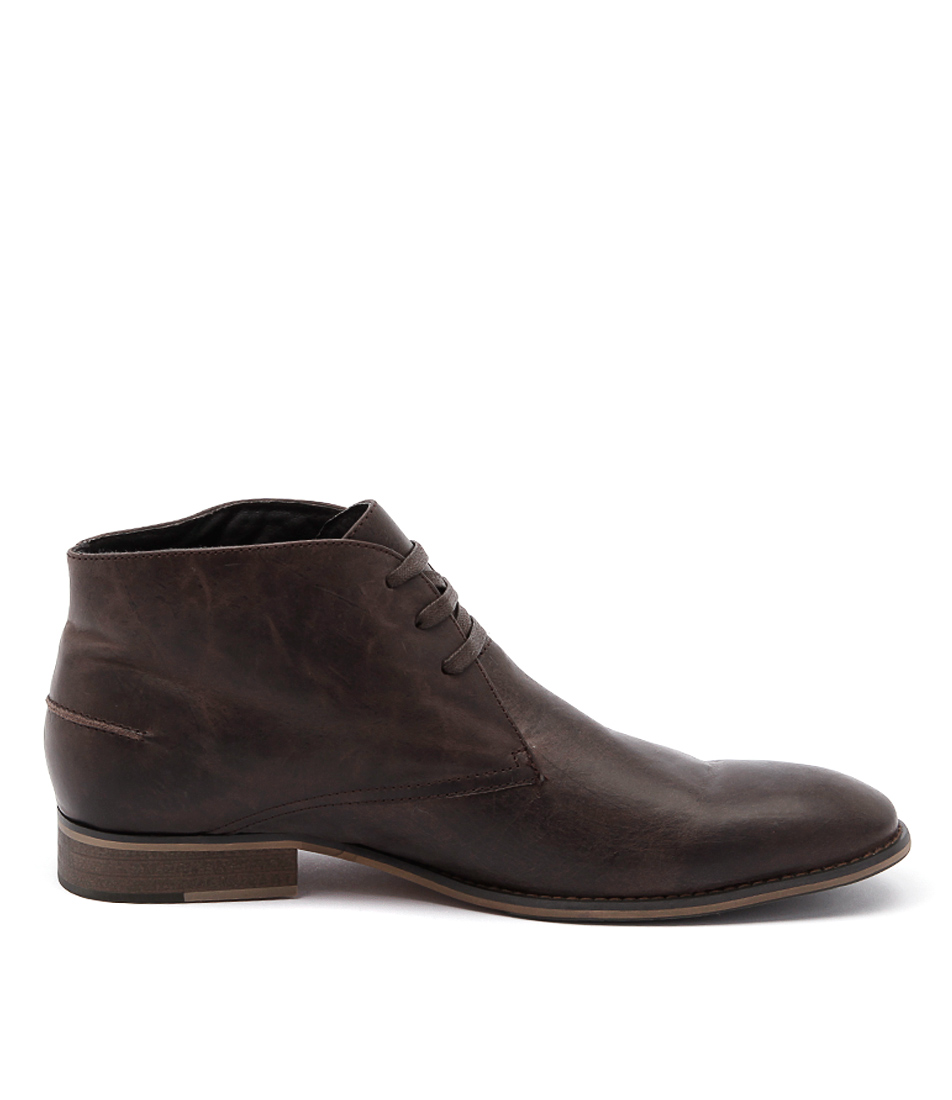 New Croft Dylan Cigar Mens Shoes Dress Boots Ankle