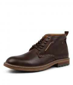POINT BROWN LEATHER