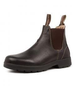 LANCE BROWN OIL LEATHER