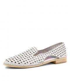 ARIALA DJL WHITE LEATHER