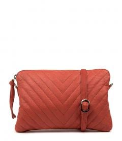 EVELYN CORAL LEATHER