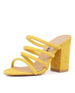 NAVO YELLOW MICROSUEDE