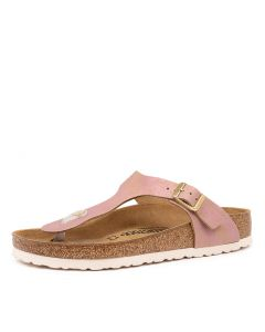 GIZEH WASHED MET PINK SUEDE