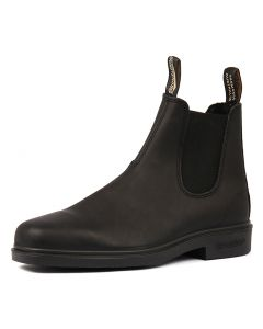 063 MENS BOOT BLACK LEATHER