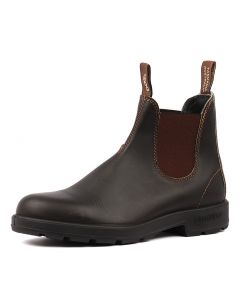 500 MENS BOOT STOUT BROWN LEATHER