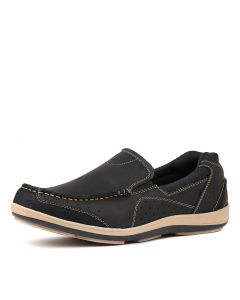 SAIL CF NAVY LEATHER