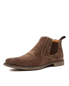 C-MILLS BROWN SUEDE