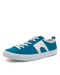 IMAR 518 BLUE-WHITE SUEDE
