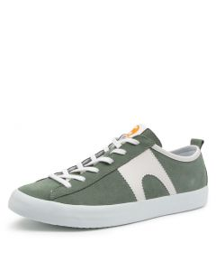 IMAR 518 GREEN-WHT SUEDE