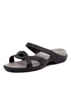 MELEEN TWIST SANDAL BLACK SMOKE CROSLITE