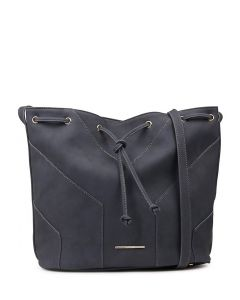 ZOE BUCKET BAG NAVY