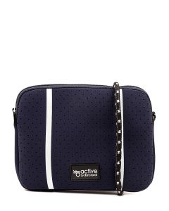 JORDYN CROSS BODY BAG NAVY NEOPRENE