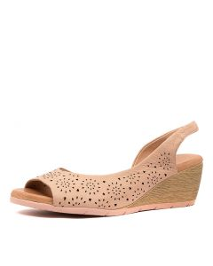 XABELLE DF DK NUDE LEATHER