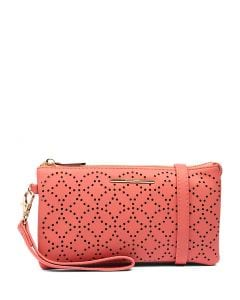 MIMI WALLET PEACH SMOOTH