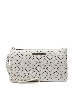 MIMI WALLET WHITE SMOOTH