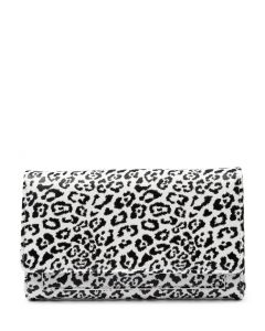 LENA WALLET DF SNOW LEOPARD SMOOTH