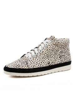 ALYSE DF WHITE WHITE SPECKLE LEATHER PONY