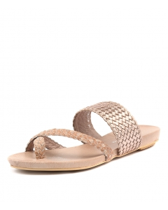 GALLOW NUDE ROSE GOLD LEATHER