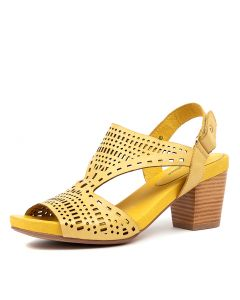 ZOLLIE YELLOW LEATHER