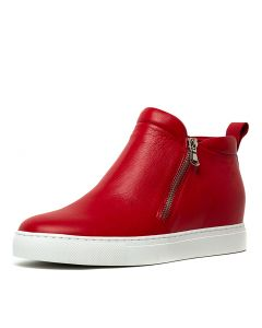 GRIFFIN RED LEATHER