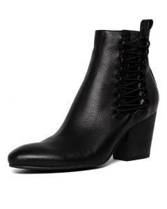 ISHMAEL BLACK BLACK HEEL LEATHER