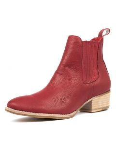 LEATTY RED LEATHER