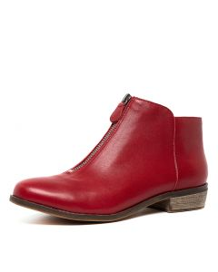 SIBYL RED LEATHER