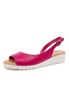 MITZI FUCHSIA-WHITE SOLE