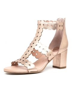 SUSSIE DJ ROSE GOLD LEATHER