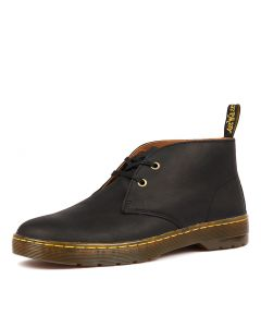 CABRILLO 2 EYE DESERT BOOT BLACK LEATHER