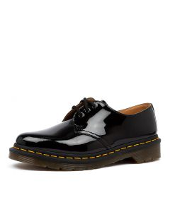 1461 3 EYE WOMENS BLACK PATENT LEATHER