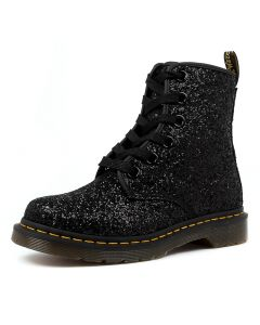 1460 FARRAH BLACK GLITTER LEATHER GLITTER